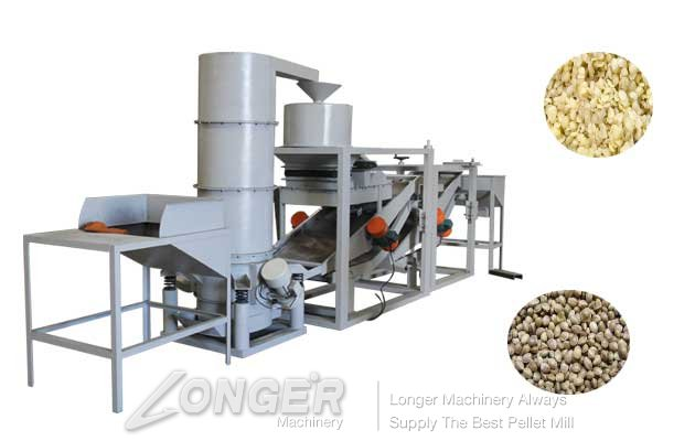 automatic hemp seed hulling machine for sale