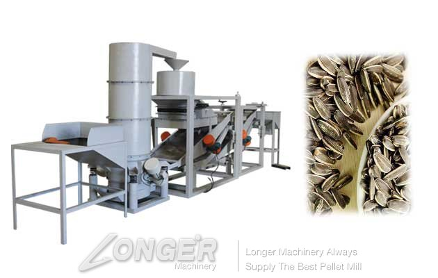 automatic sunflower seeds shelling machine