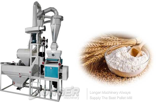 wheat flour grinding machine