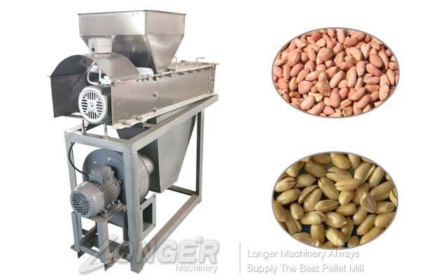 dry peanut peeling machine with best price