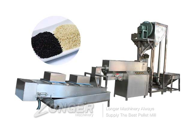 automatic sesame seeds cleaning and drying machine for sale
