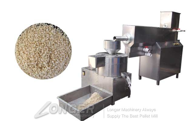 cleaning and drying machine for sesame seeds