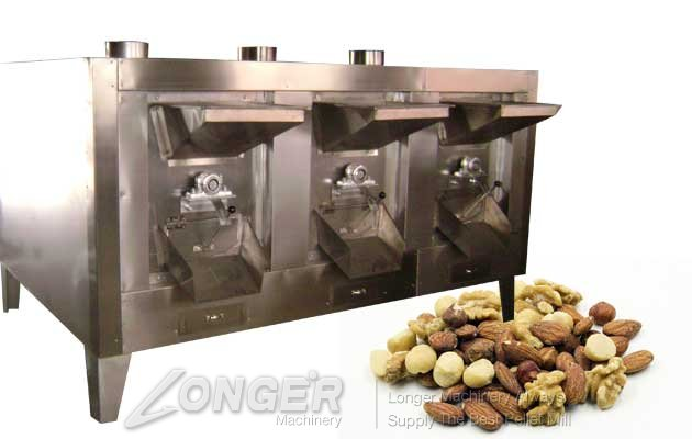 nut and seeds roaster machine for commercial
