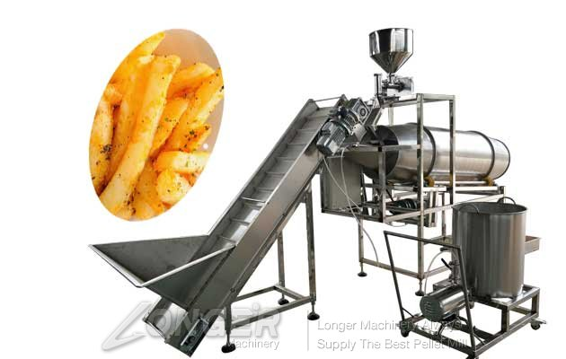 automatic snack food favoring machine