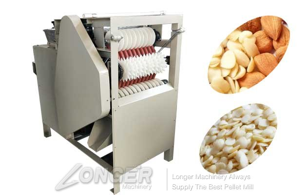 high efficiency almond peeling machien price