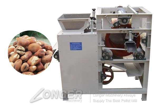 commercail broad bean slitting machine
