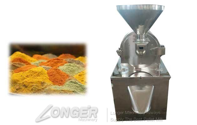 grinding machine for curry powder