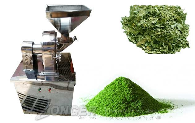 Moringa Powder Making Machine Dried Leaves Grinding Machine