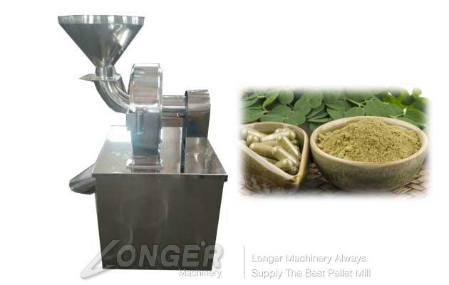 driedleaves grinding machine