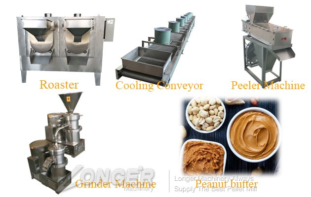 peanut butter manufacturering plant