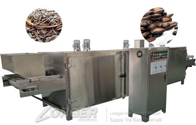 sunflower seeds roasting process machinery