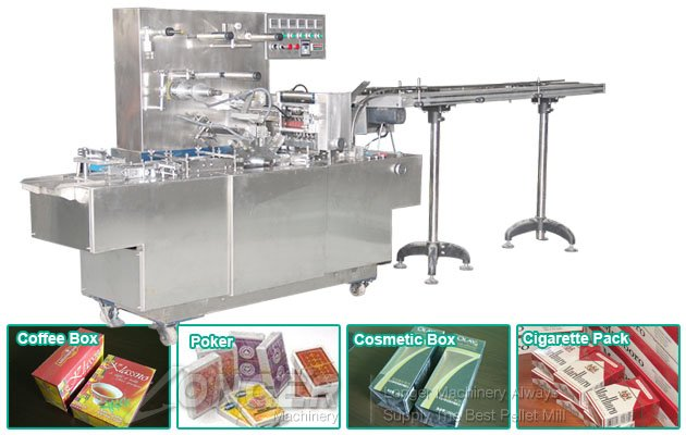 Cellophane Overwrapping Machine for Shisha Pack