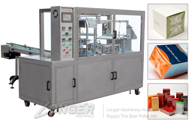 Automatic Cosmetics Cellophane Wrapping Machine