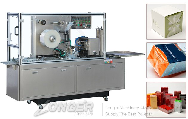 Small Box Cellophane Wrapping Machine