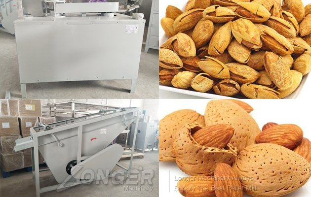almond cracking machine india