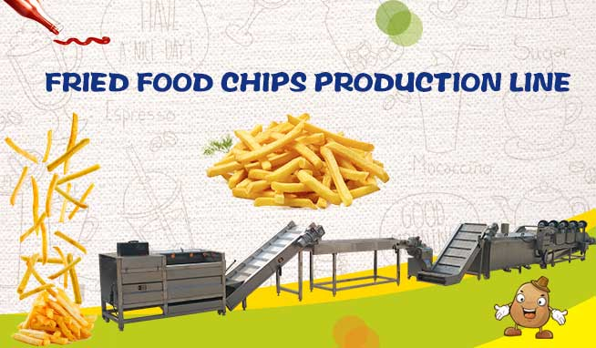 Fried Food Chips Production Line