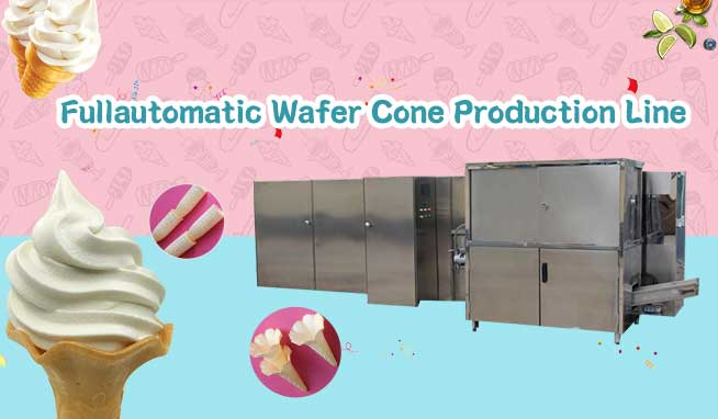 Fullautomatic Wafer Cone Production Line