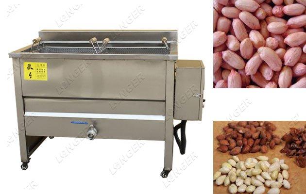 blanching almonds machine