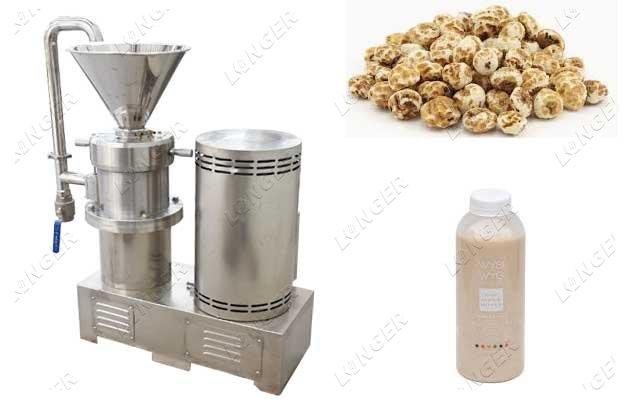 tiger nut extractor machine