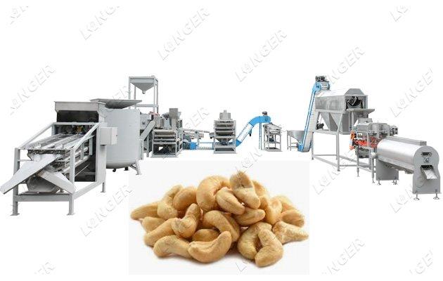 <b>Cashew Nut Processing Equipment Plant</b>