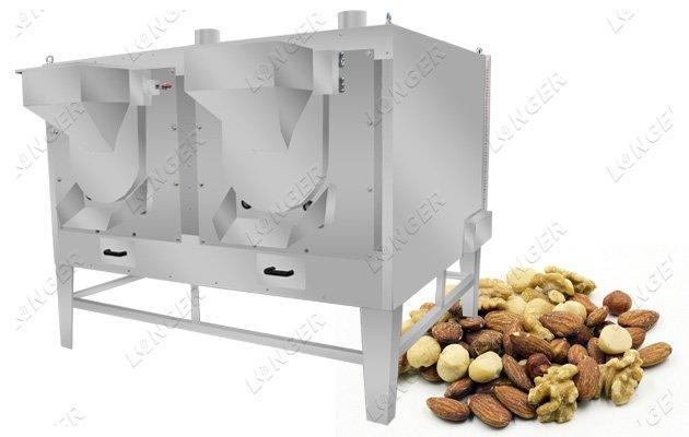 nut roasting machine low price