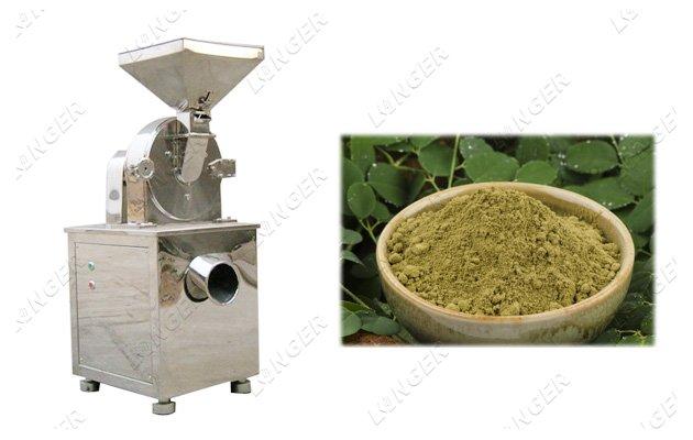 Dried Leaves Grinding Machine