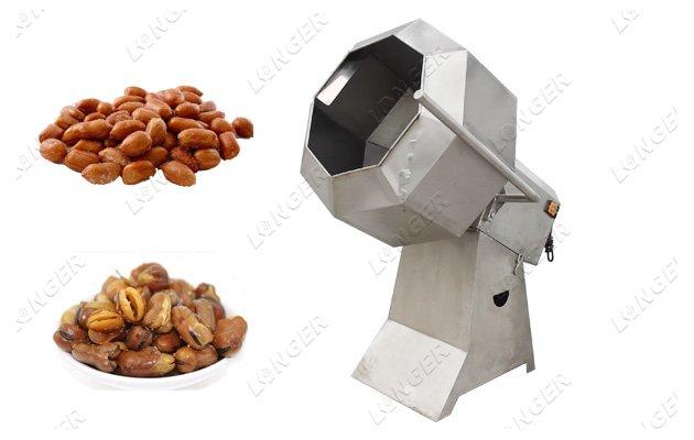flavoring machine snacks