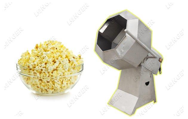 Automatic Popcorn Flavoring Machine Flavour Popcorn Machine