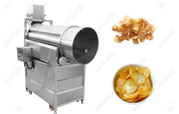 Potato Chips Seasoning Machine Chips Flavoring Machine