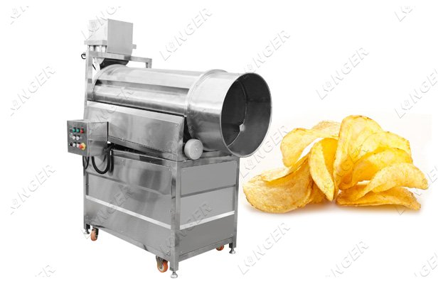 chips flavoring machine