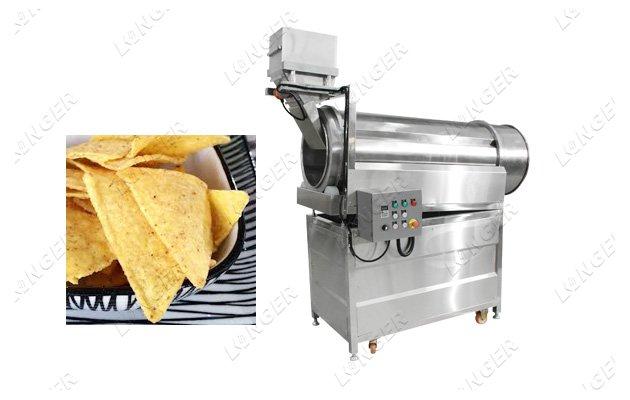 snack food seasoning machine