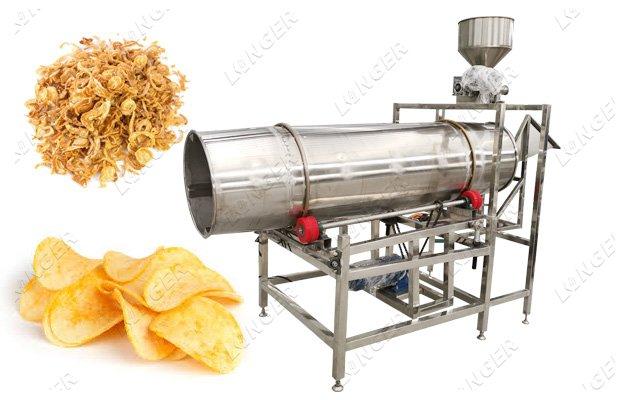 flavour coating machine