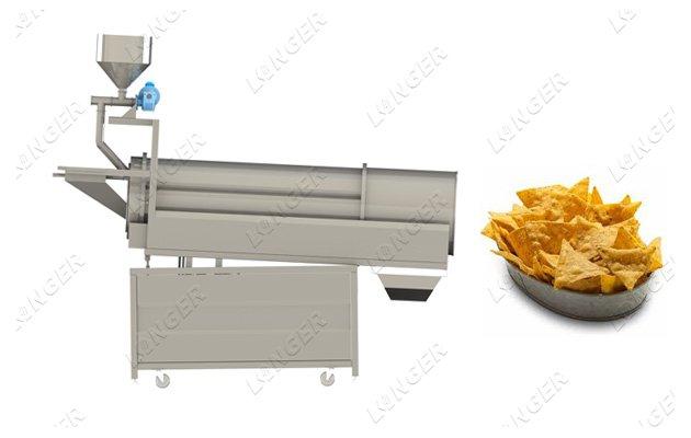 Snack Food Seasoning Machine With Guniting Function