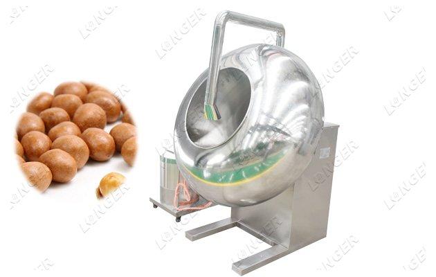 sugar peanut coating machine