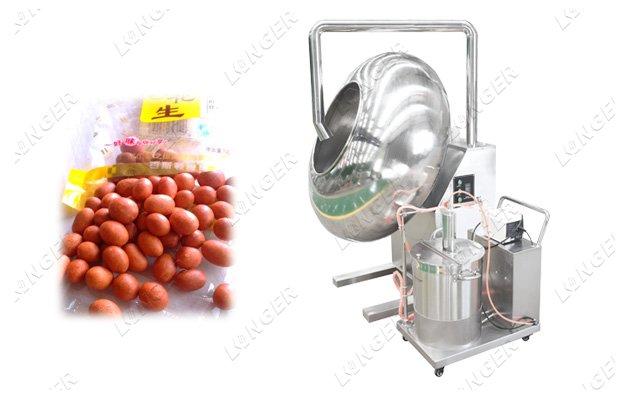 flour coating machine