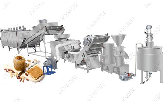 <b>Commercial Peanut Butter Production Line For Sale</b>