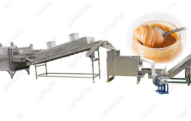 peanut butter production line price