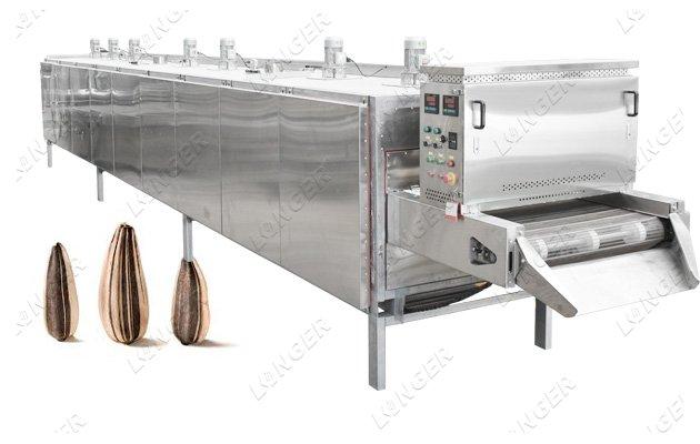 sunflower seeds roasting machine