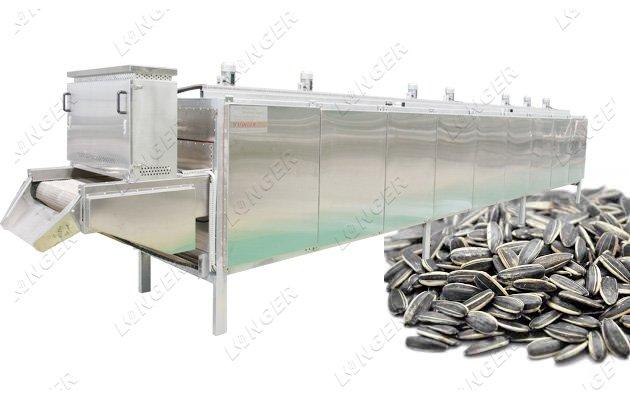 sunflower seeds roasting machine price