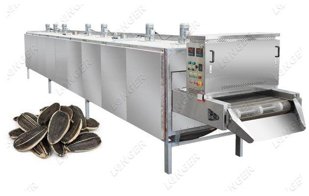 sunflower seeds baking machine