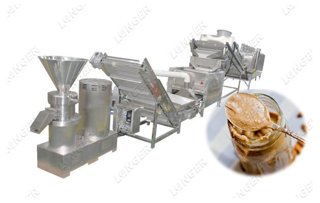 Automatic Almond Butter Processing Plant