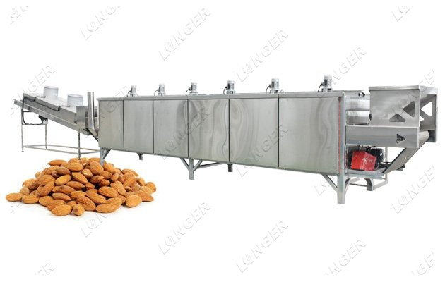 almond butter processing line