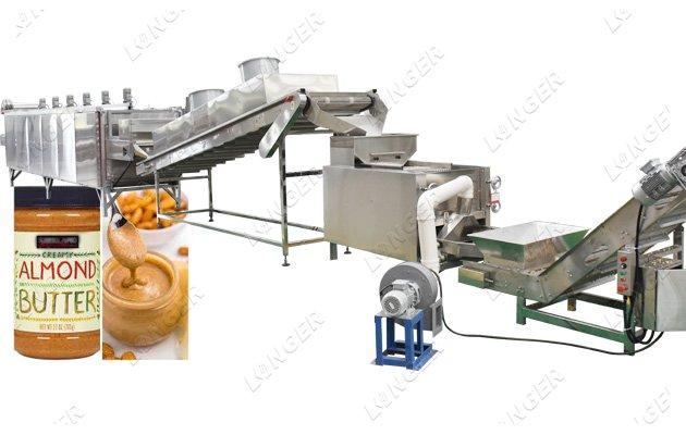 almond butter process machine