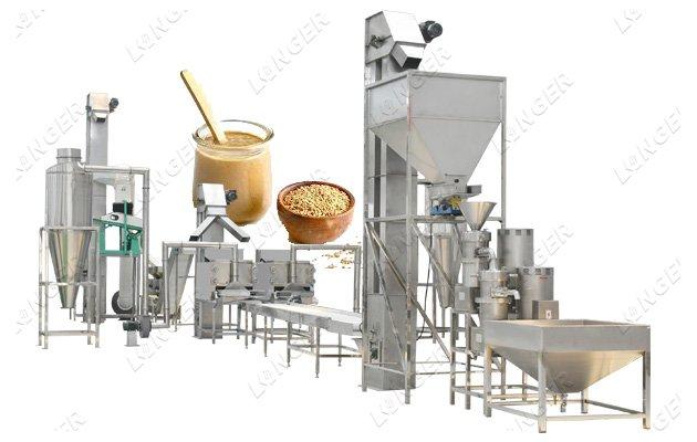 Sesame Butter Tahini Production Line