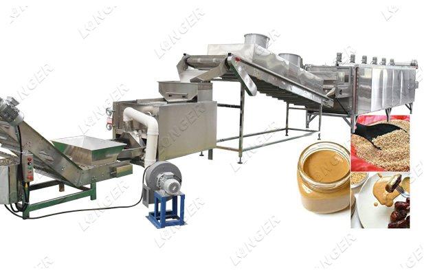 sesame tahini production line factory