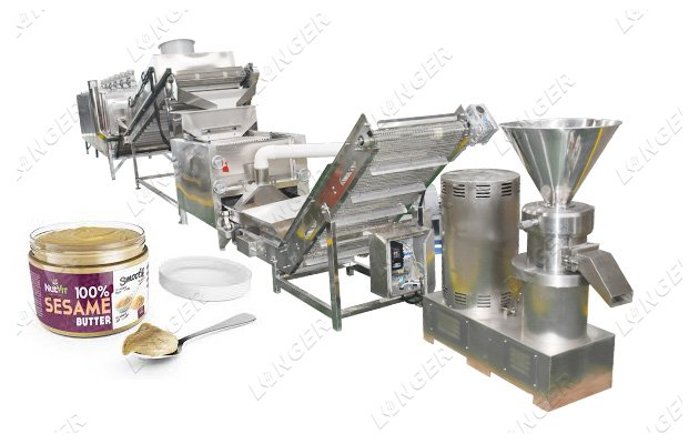 sesame butter making machine