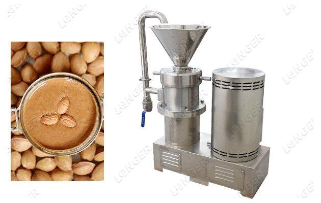 almond butter making machine factory