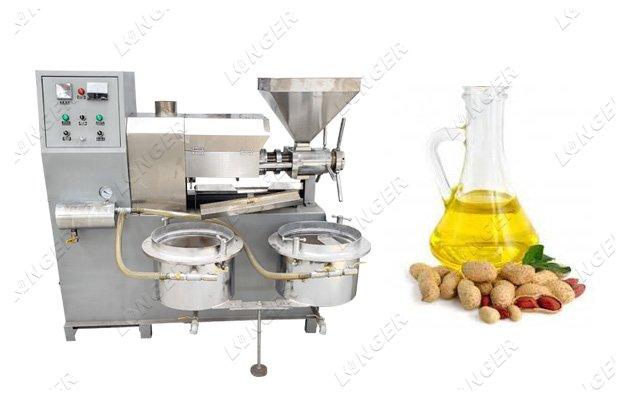 Automatic Peanut Oil Press Mach ine Peanut Oil Making Mach ine