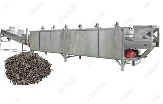 sunflower seeds production line
