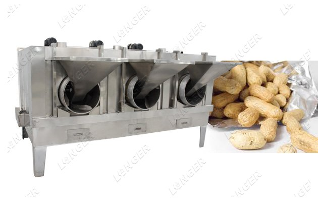 roasting peanuts machine